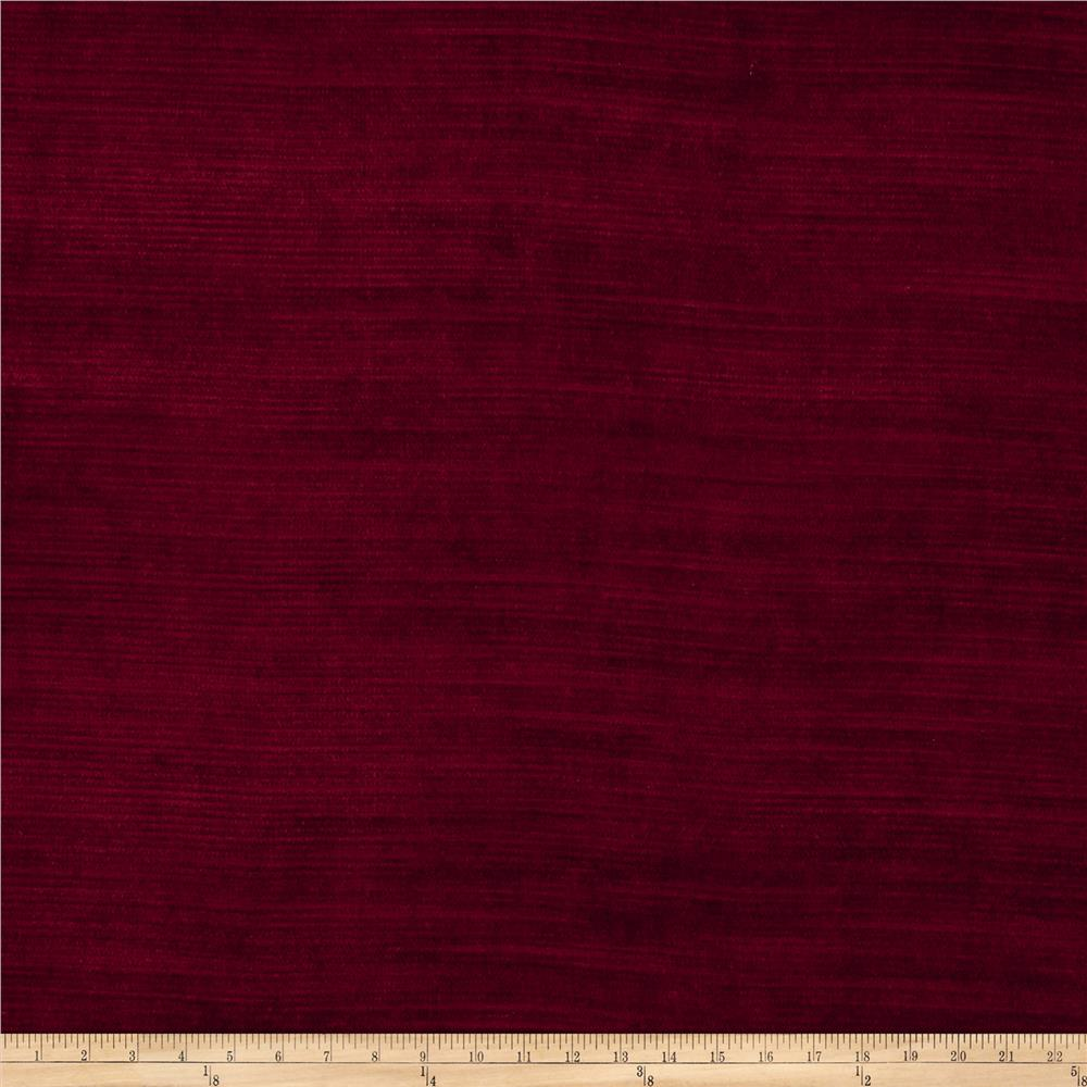 Fabricut Highlight Velvet Sangria