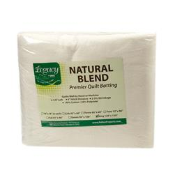 Pellon Natural Blend 80/20 Batting King 120