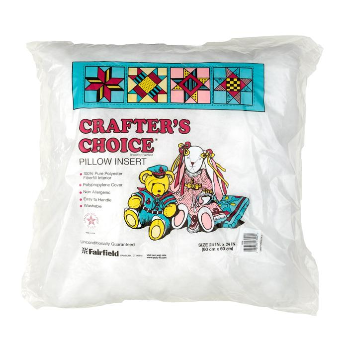 "Fairfield Crafter's Choice Pillow 24"" Square"