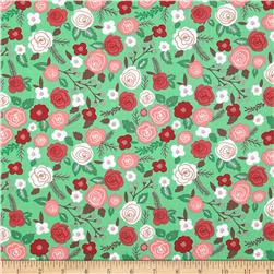 Moda Into the Woods Woodland Blooms Garden Fabric