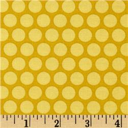 Tone on Tone Dots Yellow