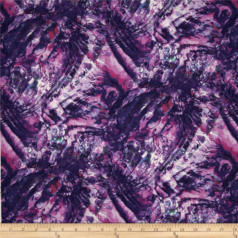 Natural Wonders Abalone Texture Purple