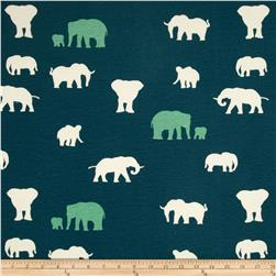 Birch Organic Serengeti Knit The Herd Teal