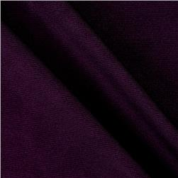 Stretch ITY Knit Solid Grape
