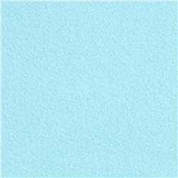 Winterfleece Velour Aqua Fabric