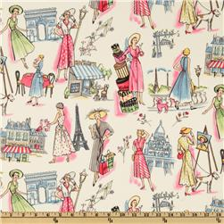 Michael Miller Springtime in Paris Multi Fabric