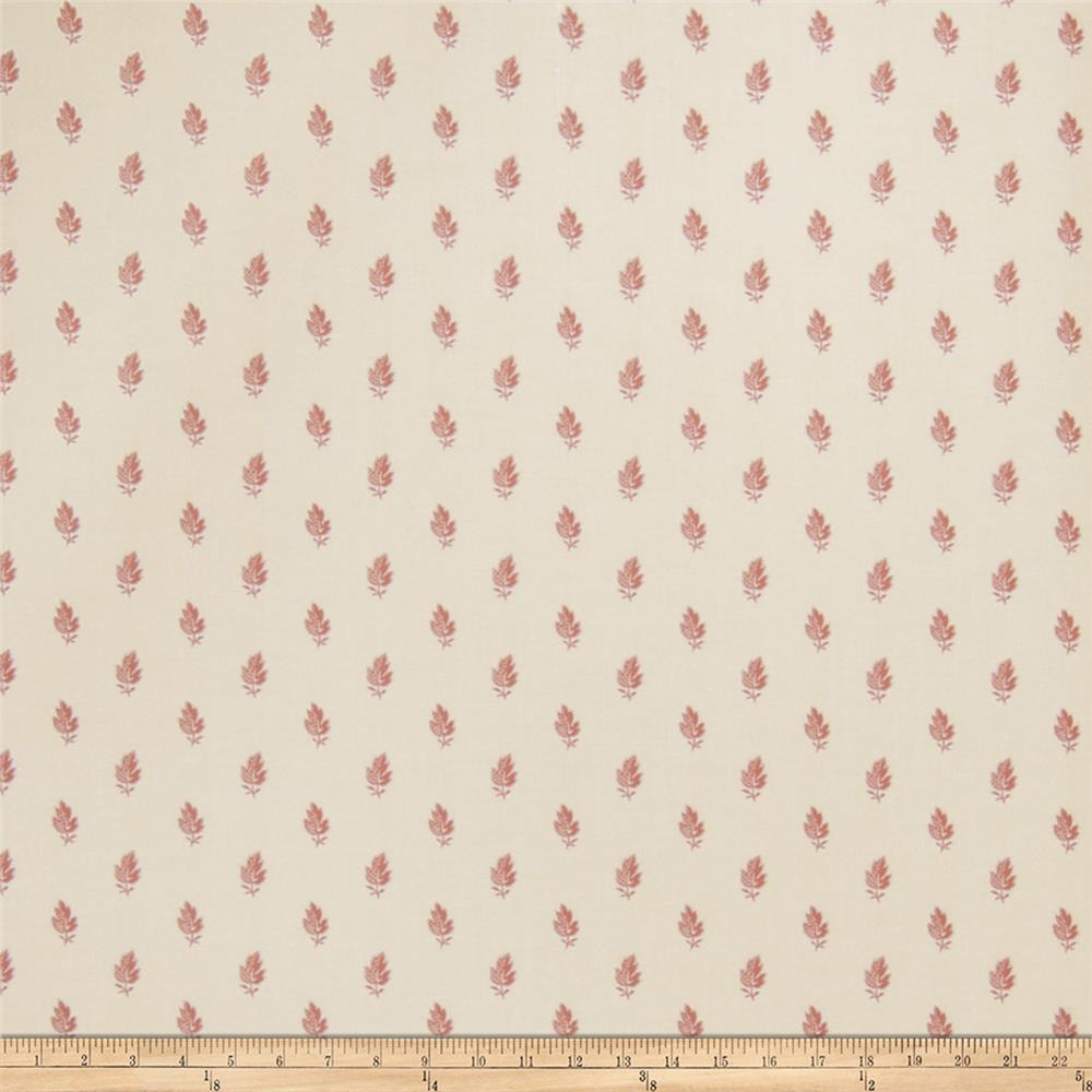 Fabricut Faustine Wallpaper Rose (Double Roll)