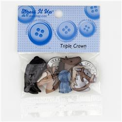Dress It Up Embellishment Buttons  Triple Crown