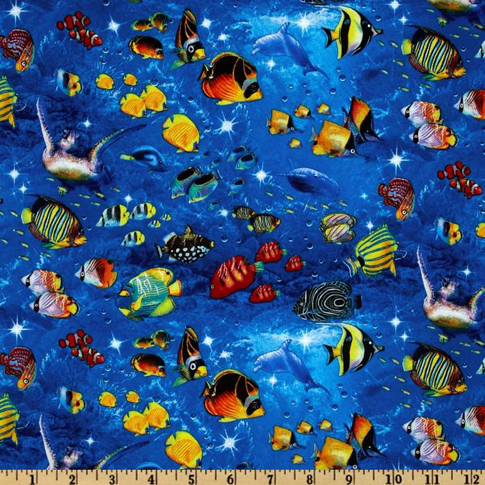 Children Of The Sea Tropical Fish Turquoise