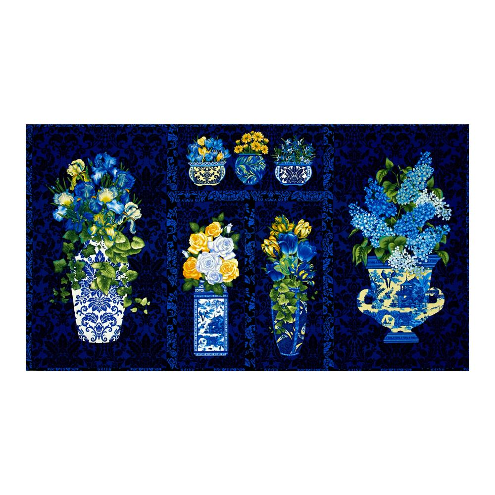Botanica III The Royal Story Vase 24 In. Panel Royal