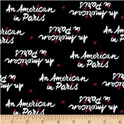 An American In Paris Logo Black