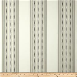 Jennifer Adams Home Bukara Stripe Jacquard Travertine Fabric