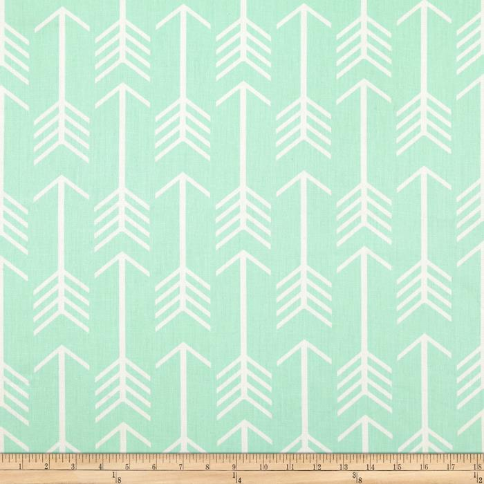 premier prints arrow mint twill discount designer fabric