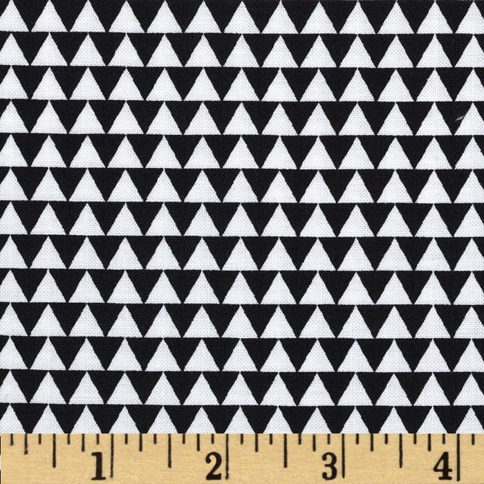Wild Field Triangles White