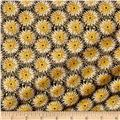 Kanvas Natural Beauty Metallic Thistle Dot Black/Wheat