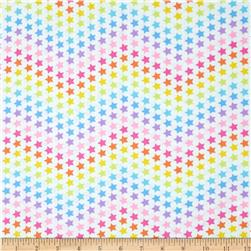 Kanvas Cry Baby Star Bright Pastel Multi Fabric