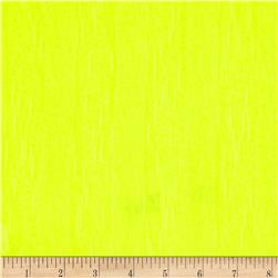 Designer Tissue Hatchi Knit Tonal Stripe Neon Yellow