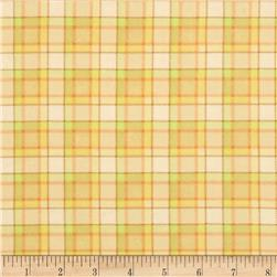 The Land Before Time Flannel Plaid Beige