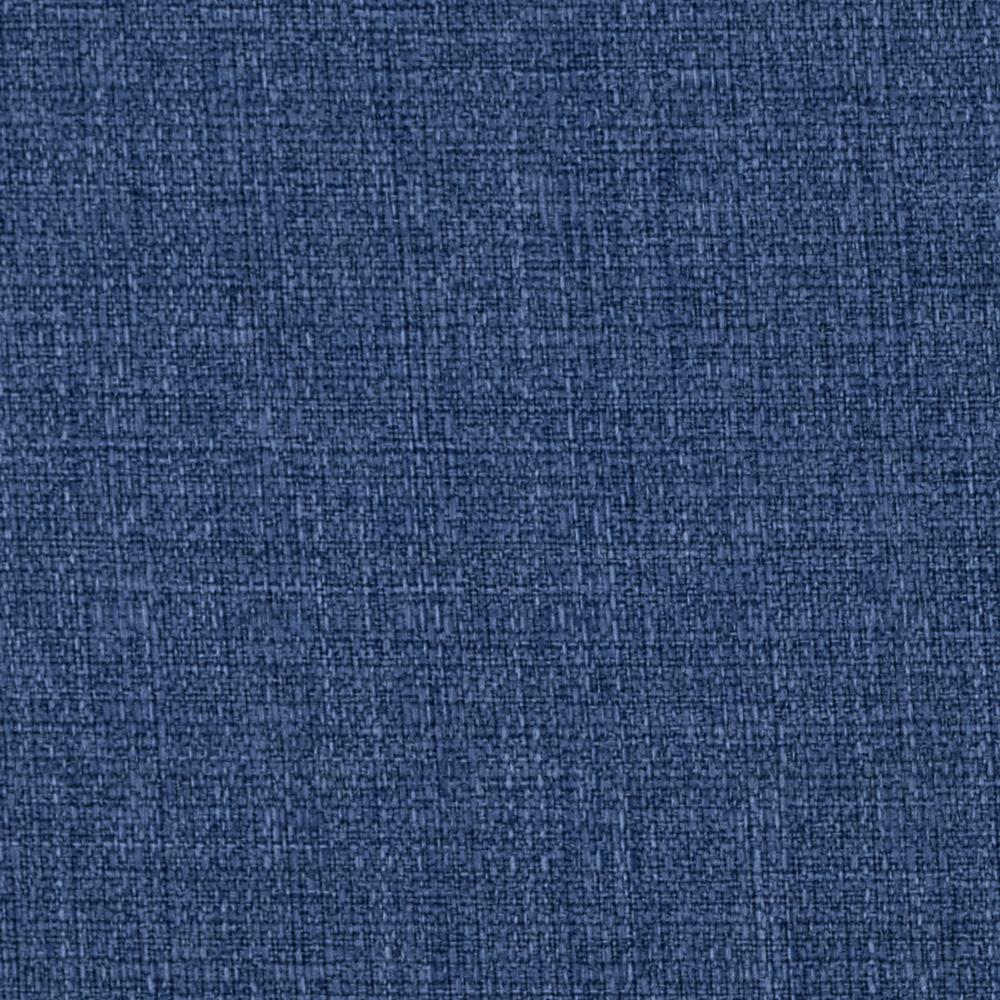 Linaire Crease Resistant Linen Look Denim Blue