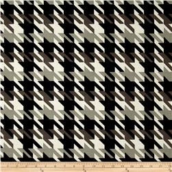 Michael Miller Big Time Houndstooth Taupe