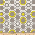 Design Studio Hexagon Yellow
