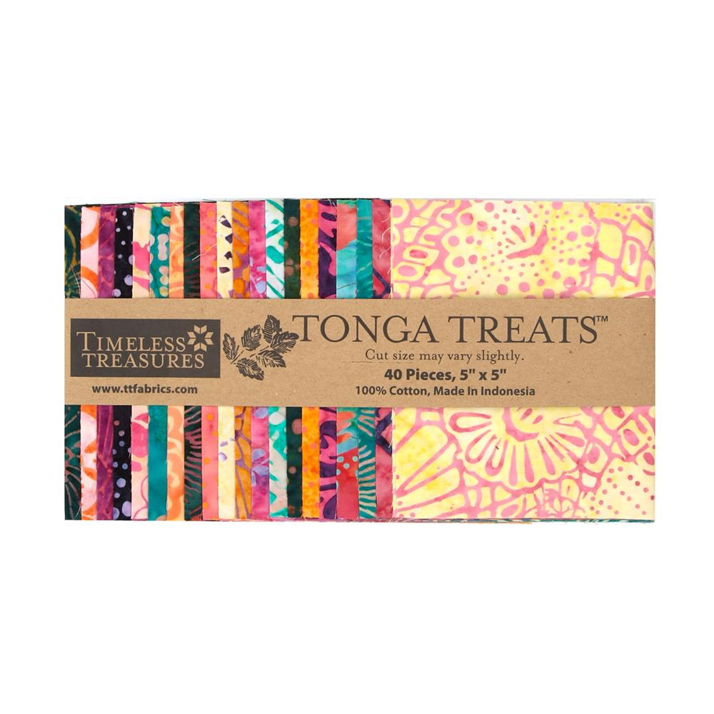Timeless Treasures Tonga Batik Pashmina 5 In. Squares