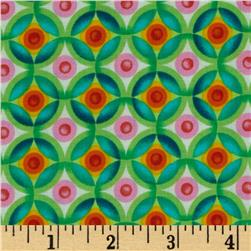 Robert Kaufman Vivid Circle Plaid Bright