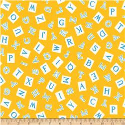 Kaufman My ABC Book Alphabet Yellow