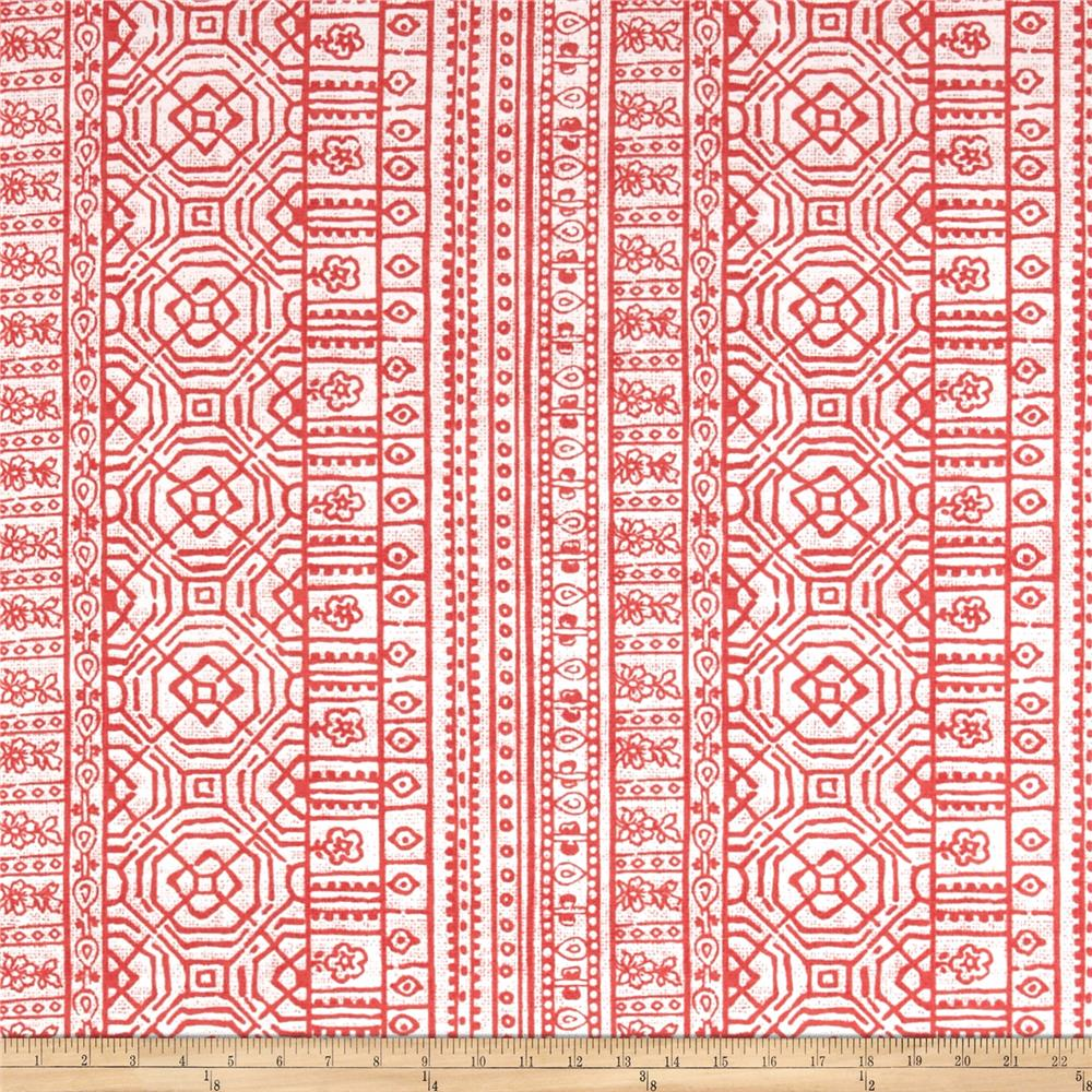 Premier Prints Indoor/Outdoor Devada Indian Coral