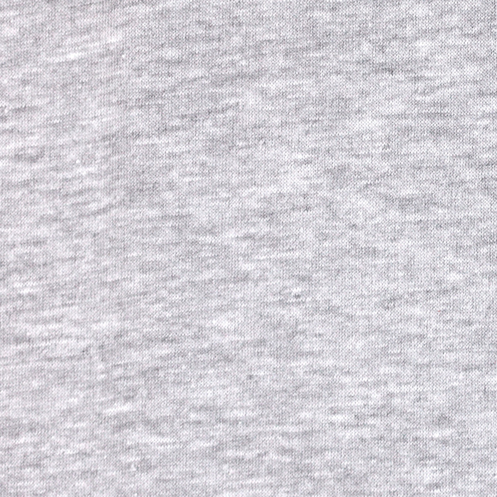 Cotton Blend Jersey Knit Medium Grey Fabric