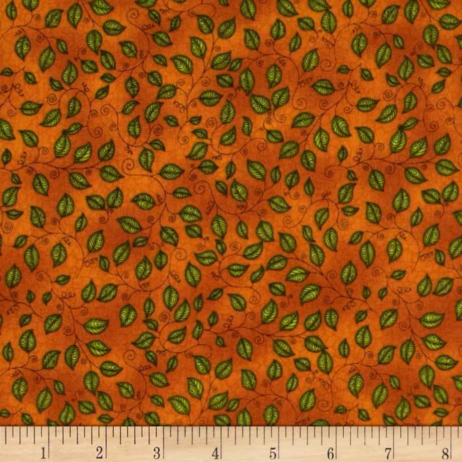 Jungleland Leaf Orange