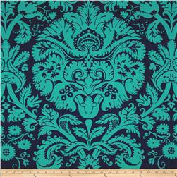 Amy Butler Belle Acanthus Teal Fabric
