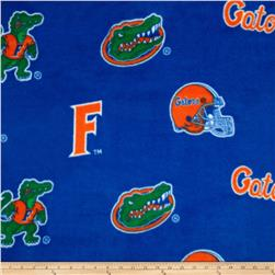 Collegiate Fleece University of Florida Orange/Blue Fabric