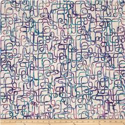 Bali Batiks Handpaints Piping Pastel