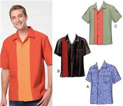 Kwik Sew Men's Novelty Short Sleeved Shirts Pattern