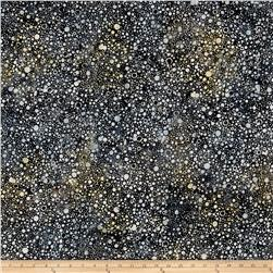 Wilmington Batiks Splash Dots Charcoal