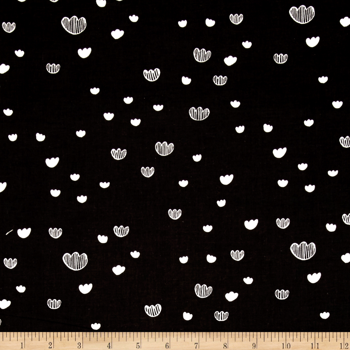 Image of Cotton + Steel Printshop Meadow Midnight Fabric