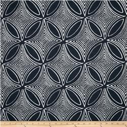 Dwell Studio Sunbrella Desert View Navy Fabric