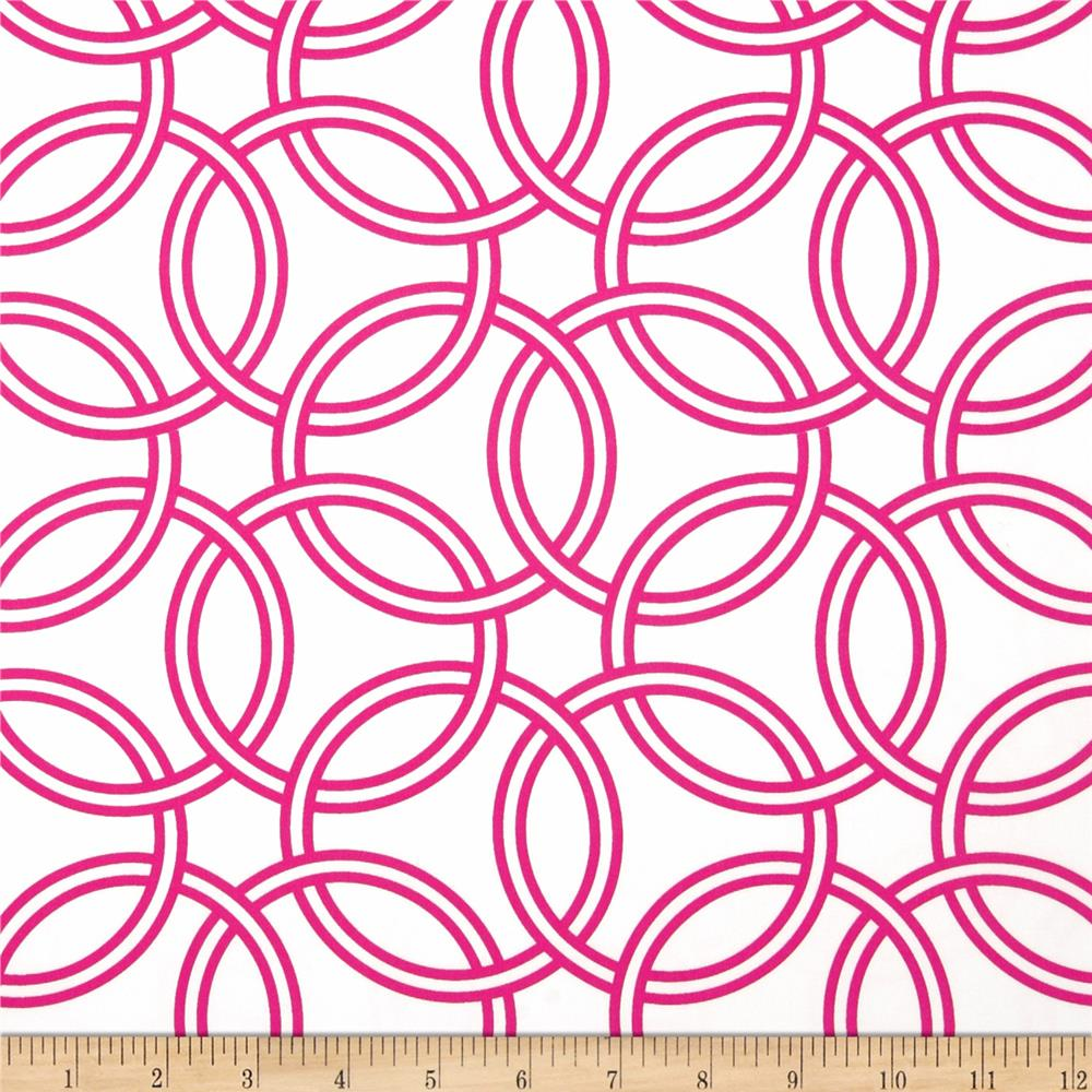 Michael Miller Bekko Home Decor Swirl Fuchsia
