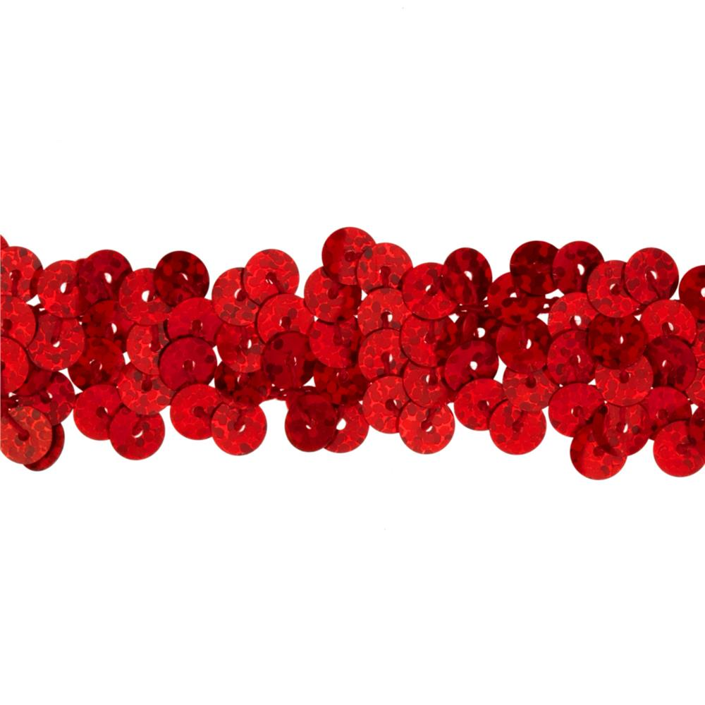 Team Spirit 3/4'' #30 Sequin Trim Red Spot