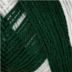 Red Heart Team Spirit Yarn (968) Green/White