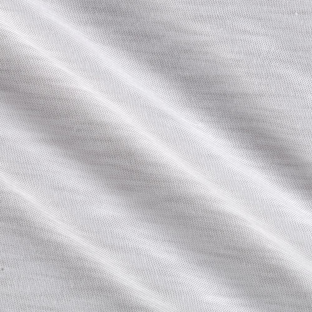 Rayon Stretch Slub Jersey Knit White