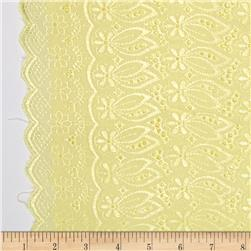 Fancy Eyelet Maize