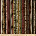 Leaf Haven Weave Stripe Espresso