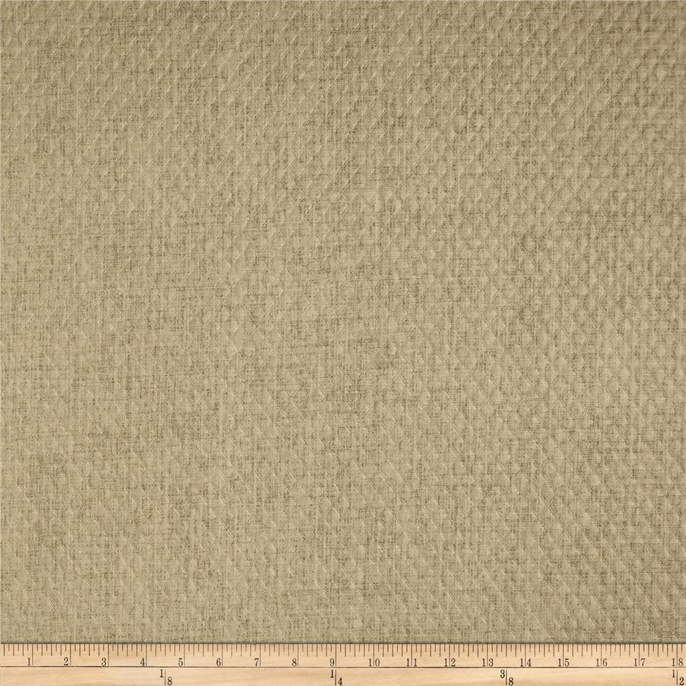 Dwell Studio Indoor/Outdoor Weavescene Embossed Taupe