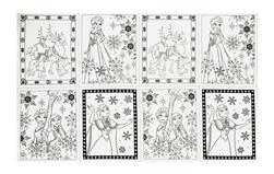 """Disney Frozen Book Pages 24"""" Panel White"""