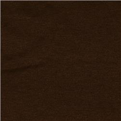 Rayon Spandex Jersey Knit Walnut Brown