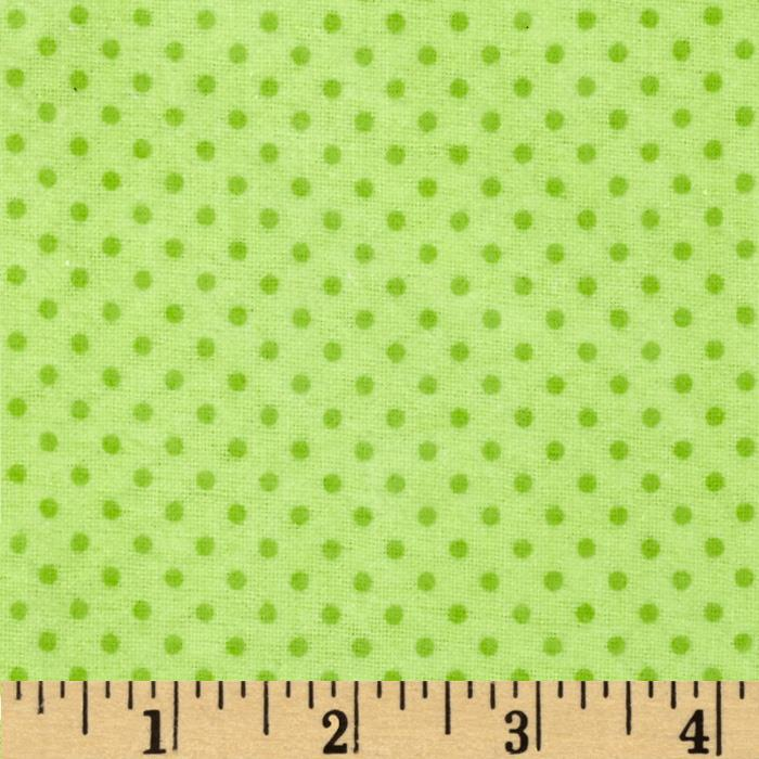 Flannel Dots Mint