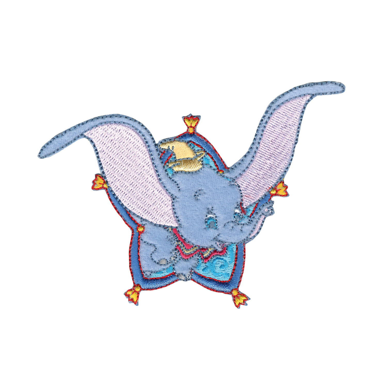 Disney Dumbo Iron On Applique Dumbo Flying by Notions Marketing in USA