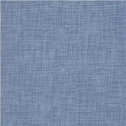 Quilter's Linen Print Denim Blue Fabric